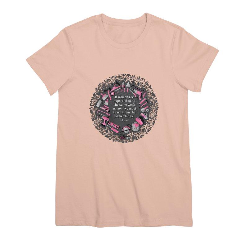 Same tools Women's Premium T-Shirt by FemThotz's Artist Shop