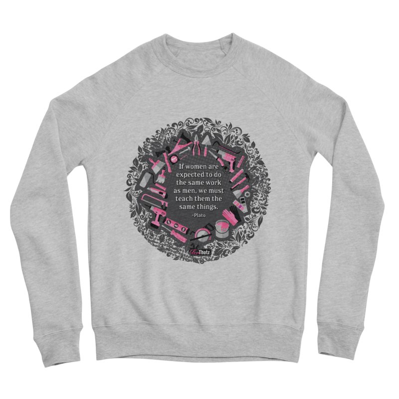 Same tools Women's Sponge Fleece Sweatshirt by FemThotz's Artist Shop