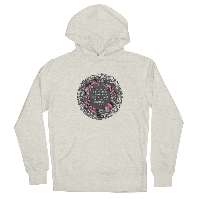 Same tools Women's French Terry Pullover Hoody by FemThotz's Artist Shop