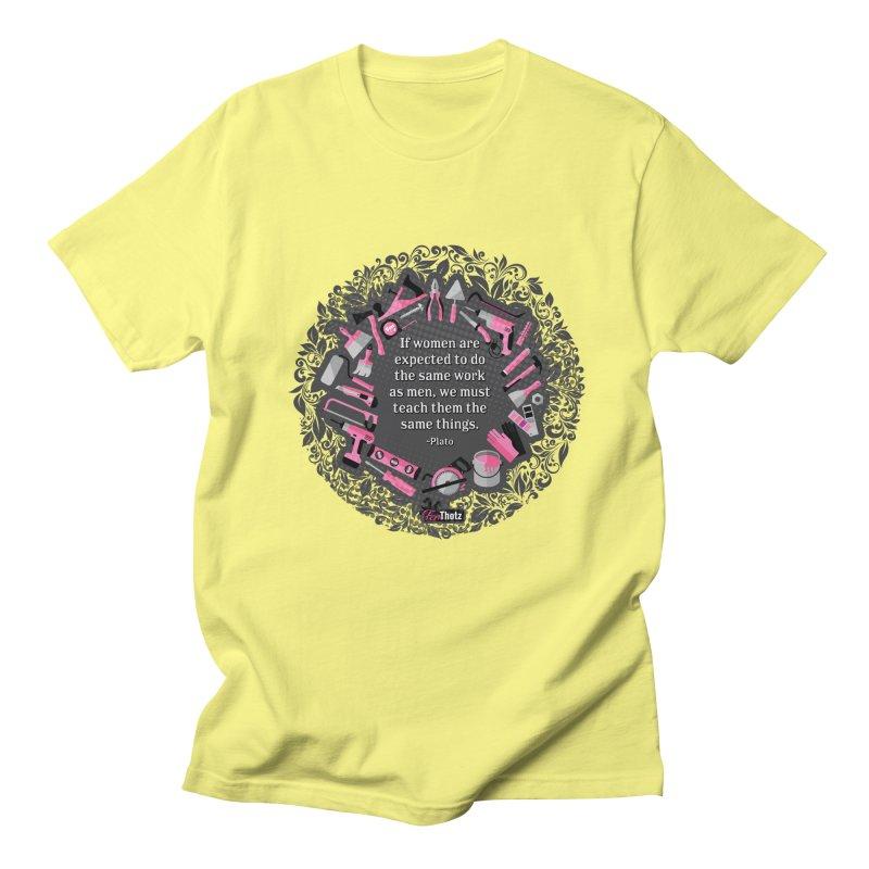 Same tools Women's Regular Unisex T-Shirt by FemThotz's Artist Shop