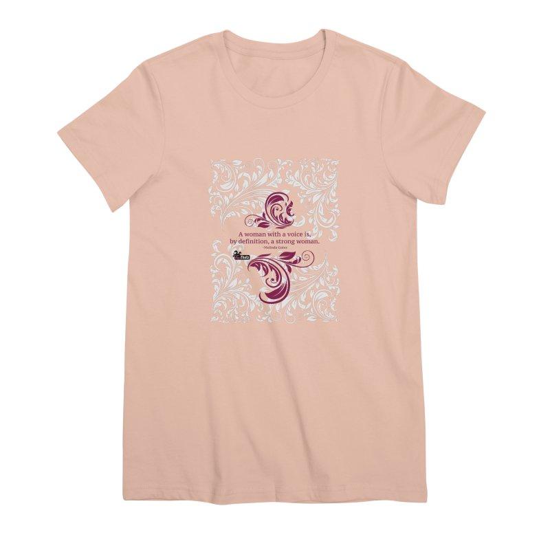 Strong Woman Women's Premium T-Shirt by FemThotz's Artist Shop