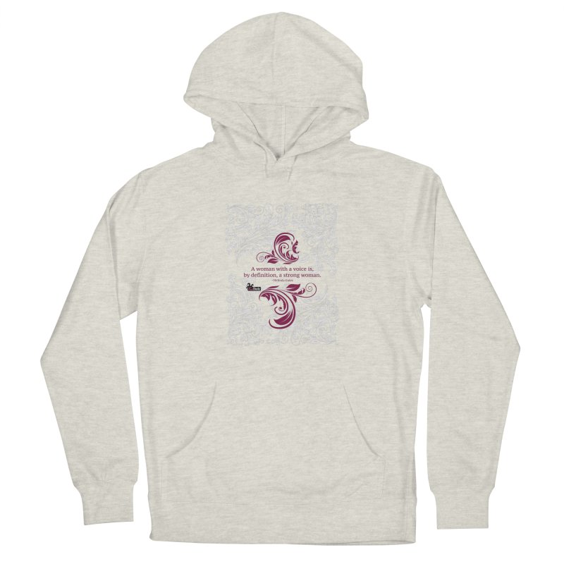 Strong Woman Women's French Terry Pullover Hoody by FemThotz's Artist Shop