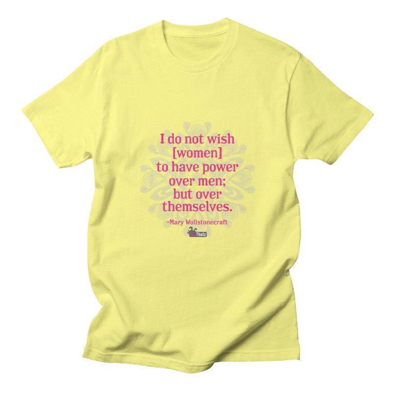 Power over themselves Women's T-Shirt by FemThotz's Artist Shop