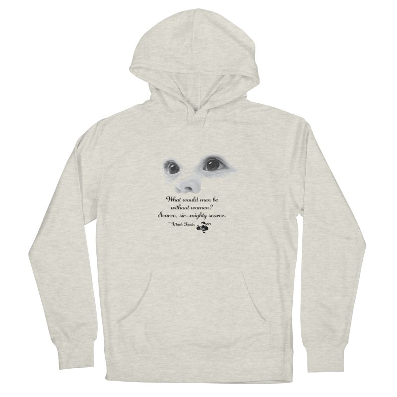 Mighty scarce sir Women's French Terry Pullover Hoody by FemThotz's Artist Shop