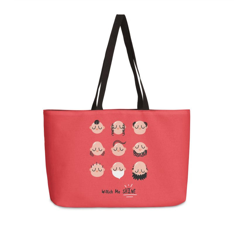 Watch Me SHINE Accessories Weekender Bag Bag by Fenway Wei Fan