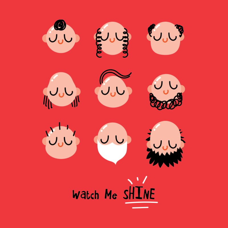 Watch Me SHINE Men's T-Shirt by Fenway Wei Fan