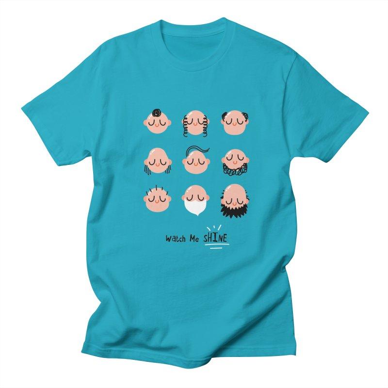 Watch Me SHINE Men's T-Shirt by Fenway Wei Fan