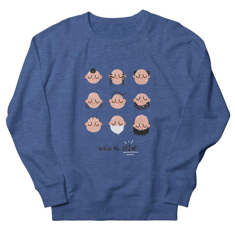 Watch Me SHINE Men's Sweatshirt by Fenway Wei Fan