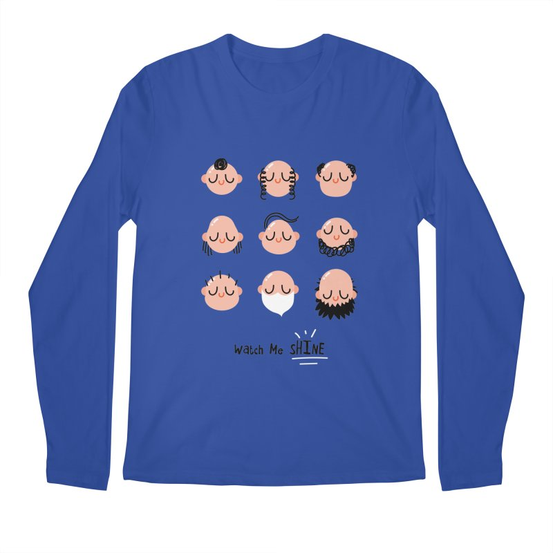 Watch Me SHINE Men's Regular Longsleeve T-Shirt by Fenway Wei Fan