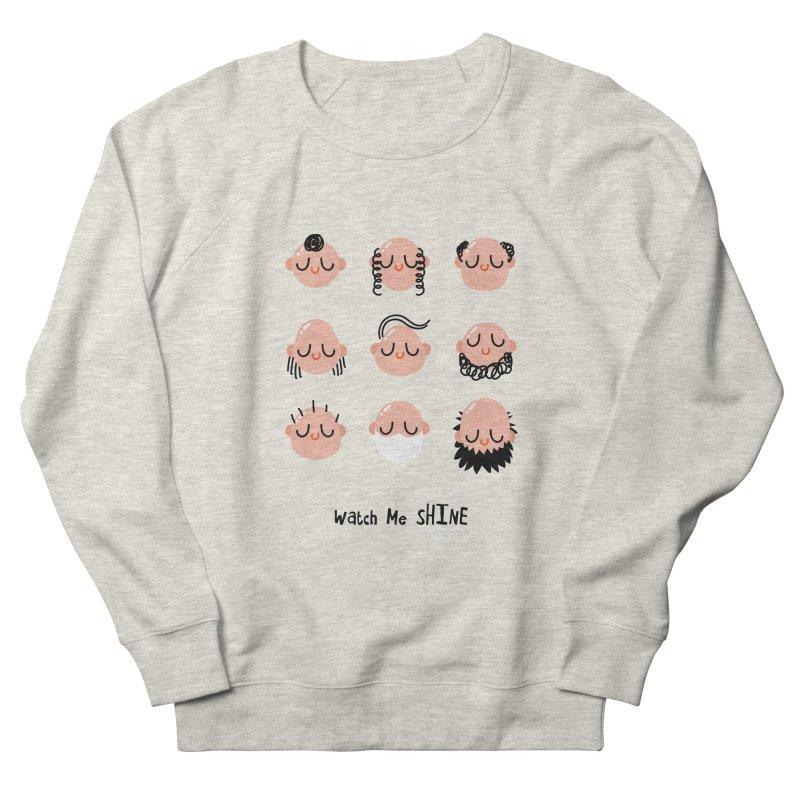 Watch Me SHINE Women's French Terry Sweatshirt by Fenway Wei Fan