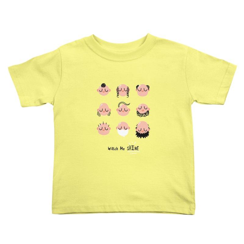 Watch Me SHINE Kids Toddler T-Shirt by Fenway Wei Fan