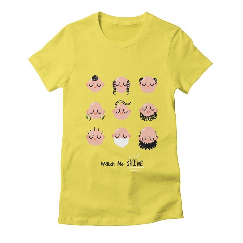 Watch Me SHINE Women's T-Shirt by Fenway Wei Fan