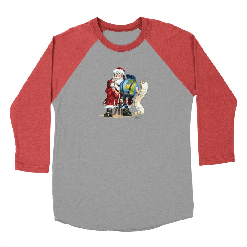 Poor Santa! What a headache! Men's Longsleeve T-Shirt by Ferran Xalabarder's Artist Shop