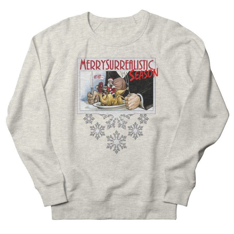 Surrealistic Season Women's French Terry Sweatshirt by Ferran Xalabarder's Artist Shop