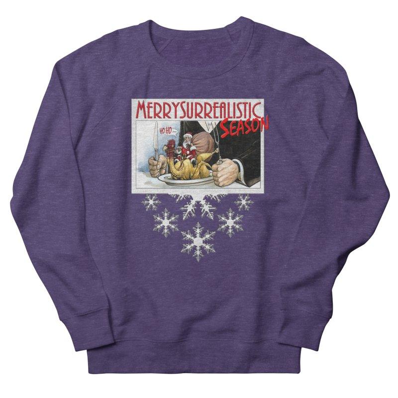 Surrealistic Season Men's Sweatshirt by Ferran Xalabarder's Artist Shop