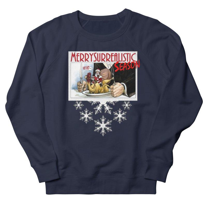 Surrealistic Season Men's French Terry Sweatshirt by Ferran Xalabarder's Artist Shop
