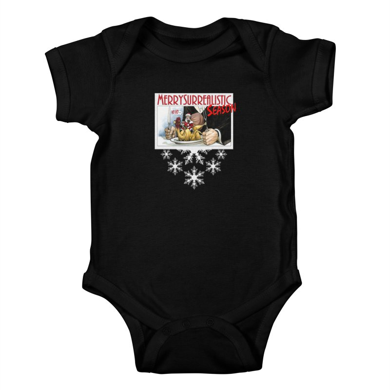 Surrealistic Season Kids Baby Bodysuit by Ferran Xalabarder's Artist Shop