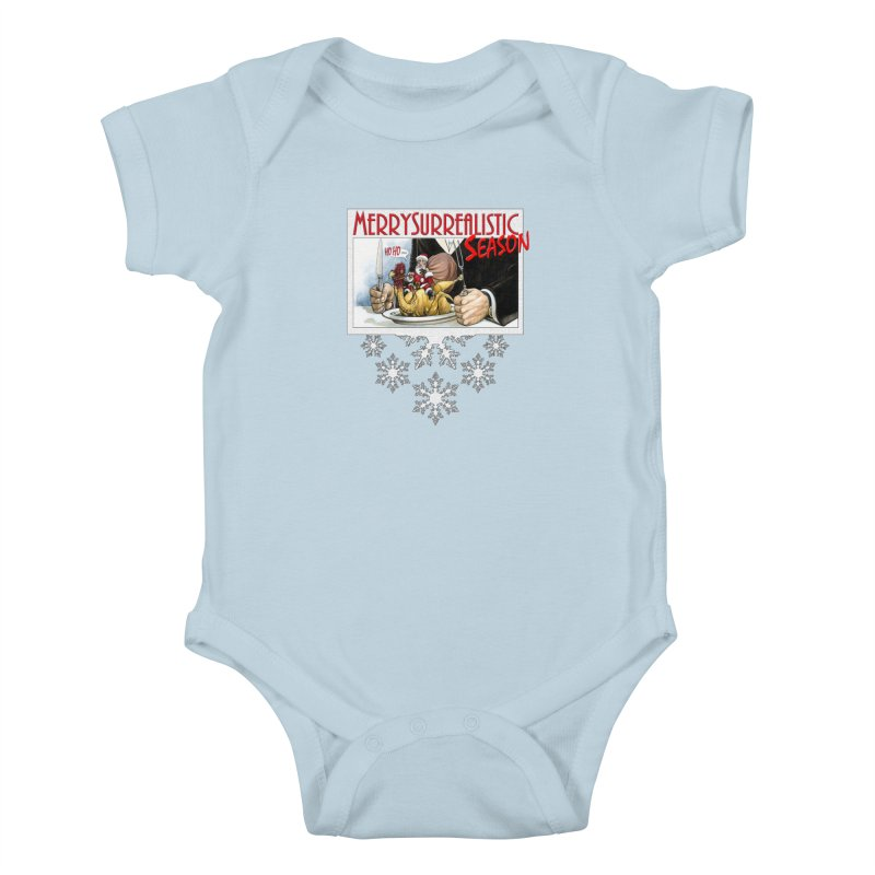 Surrealistic Season Kids Baby Bodysuit by Ferran Xalabarder's Artist Shop