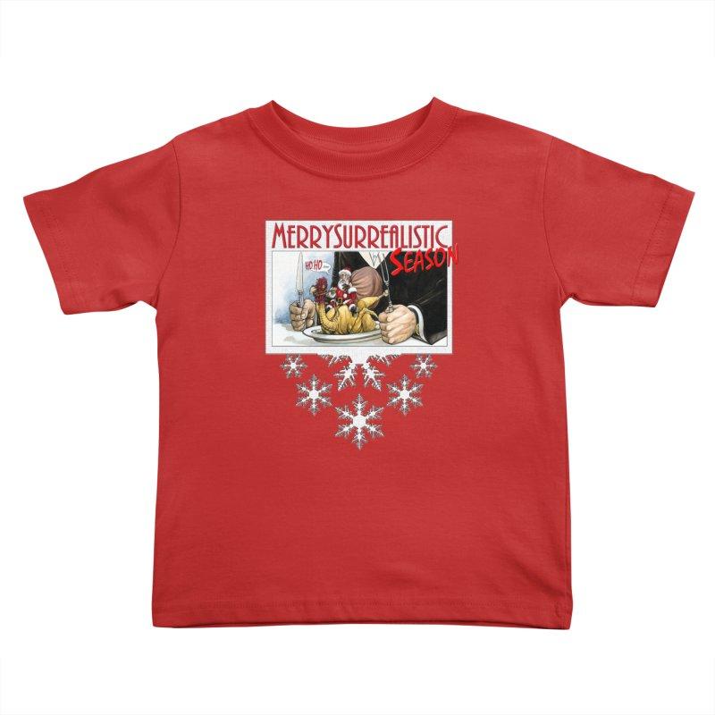 Surrealistic Season Kids Toddler T-Shirt by Ferran Xalabarder's Artist Shop