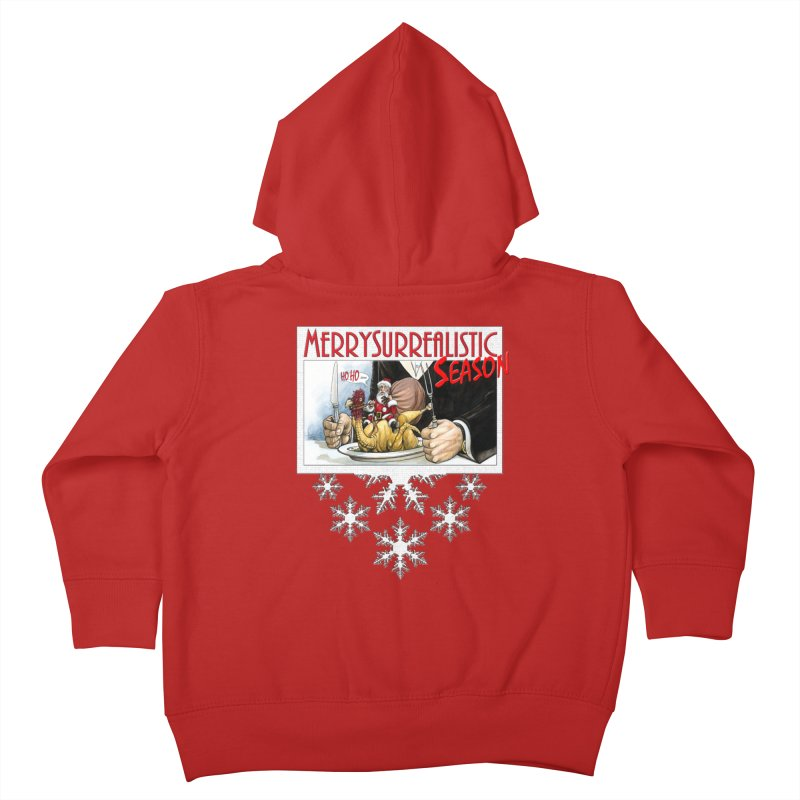 Surrealistic Season Kids Toddler Zip-Up Hoody by Ferran Xalabarder's Artist Shop
