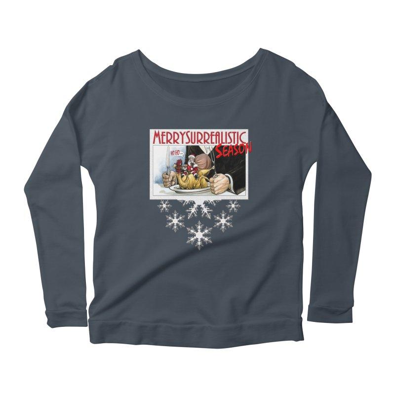 Surrealistic Season Women's Longsleeve T-Shirt by Ferran Xalabarder's Artist Shop