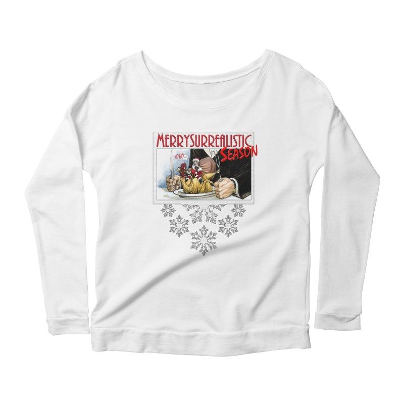 Surrealistic Season Women's Scoop Neck Longsleeve T-Shirt by Ferran Xalabarder's Artist Shop