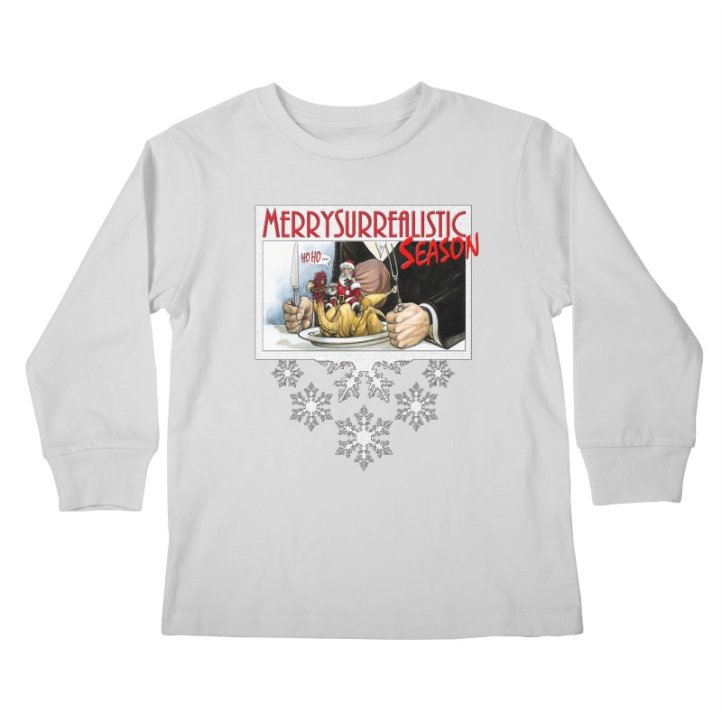 Surrealistic Season Kids Longsleeve T-Shirt by Ferran Xalabarder's Artist Shop