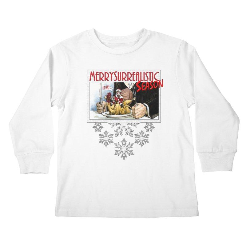 Surrealistic Season Kids Longsleeve T-Shirt by Ferran Xalabarder's Artist Shop