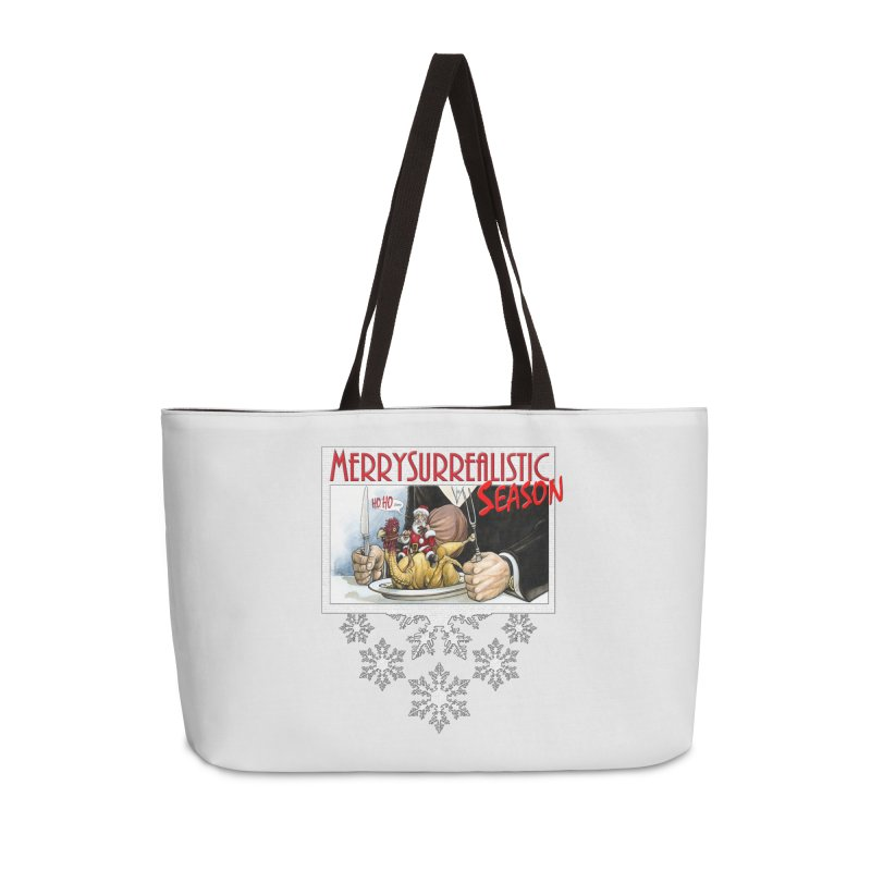 Surrealistic Season Accessories Weekender Bag Bag by Ferran Xalabarder's Artist Shop