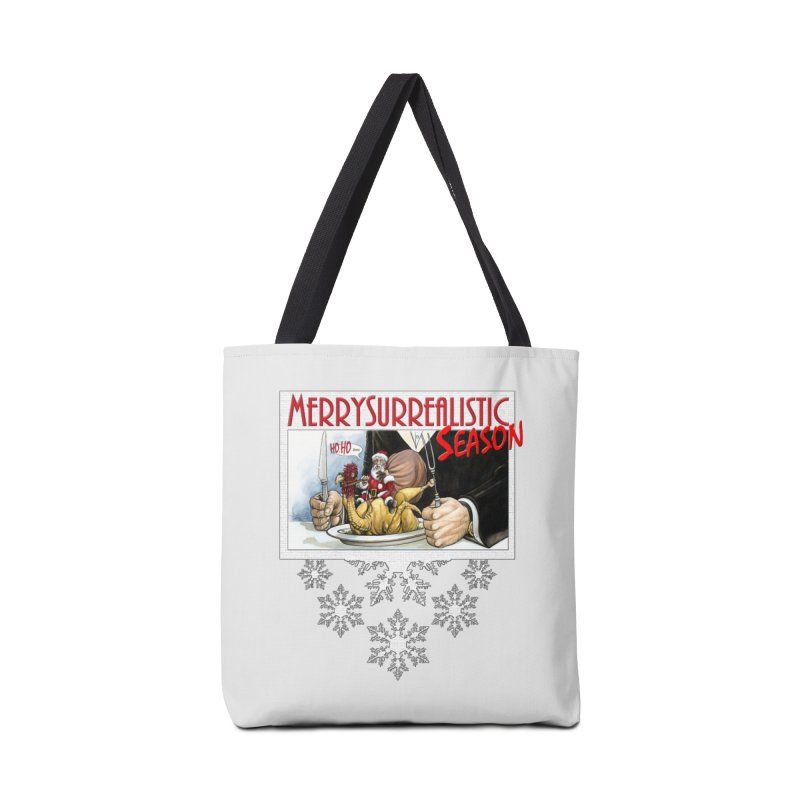 Surrealistic Season Accessories Tote Bag Bag by Ferran Xalabarder's Artist Shop