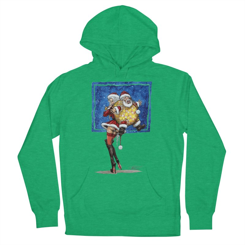 Spicy Xmas. Women's French Terry Pullover Hoody by Ferran Xalabarder's Artist Shop
