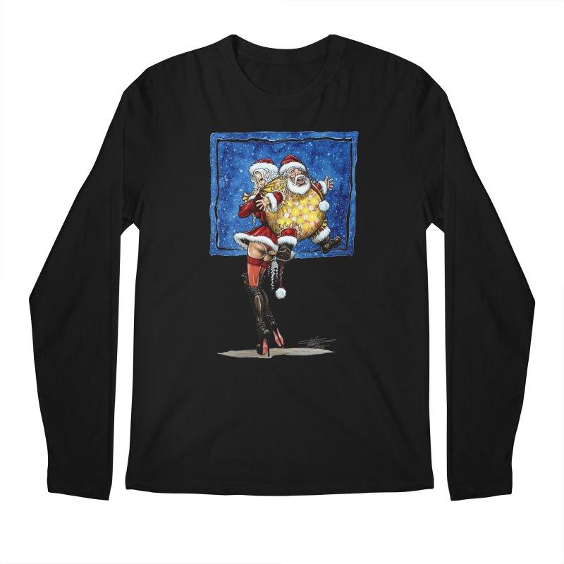 Spicy Xmas. Men's Regular Longsleeve T-Shirt by Ferran Xalabarder's Artist Shop