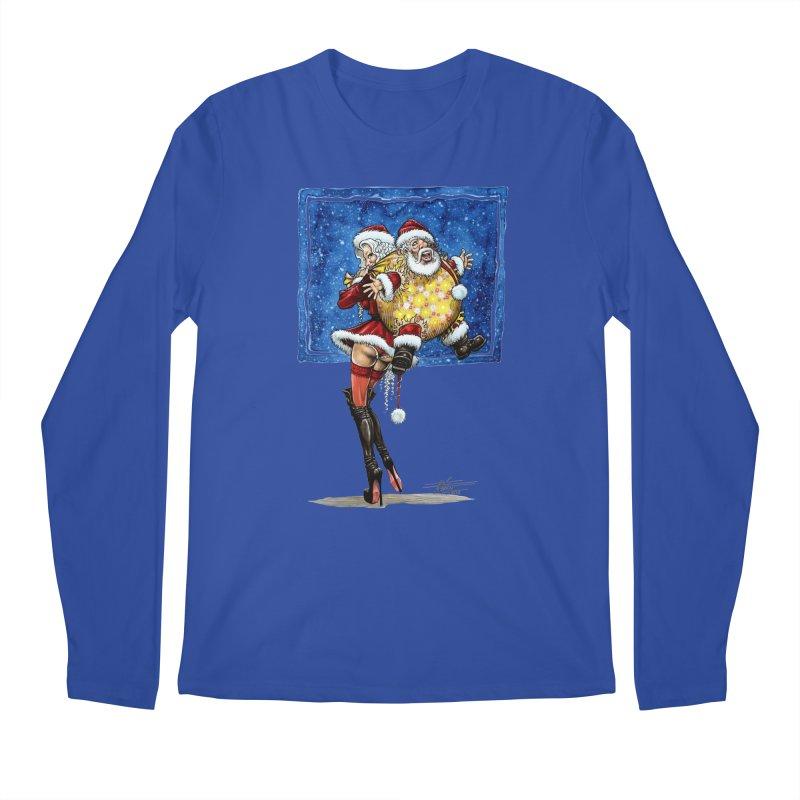 Spicy Xmas. Men's Longsleeve T-Shirt by Ferran Xalabarder's Artist Shop