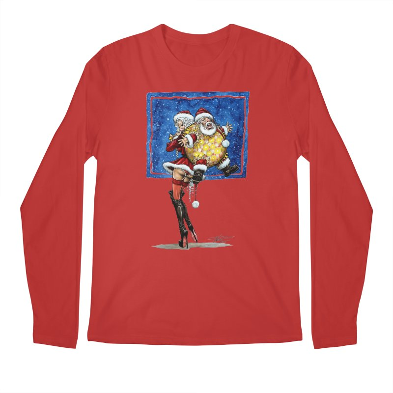 Spicy Xmas. Men's Regular Longsleeve T-Shirt by Ferran Xalabarder's Artist Shop