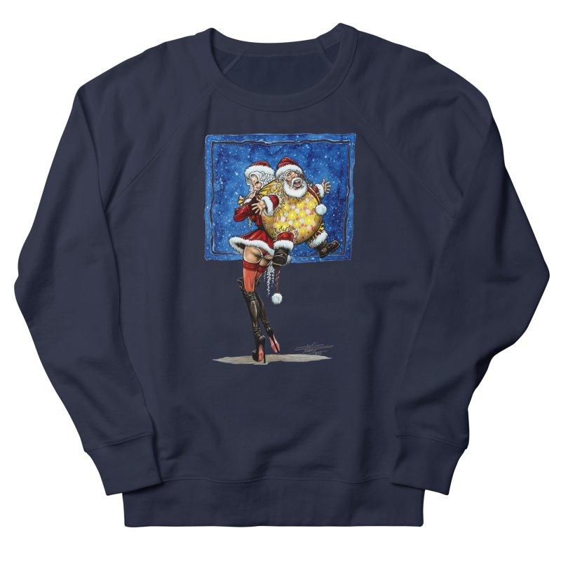 Spicy Xmas. Women's French Terry Sweatshirt by Ferran Xalabarder's Artist Shop
