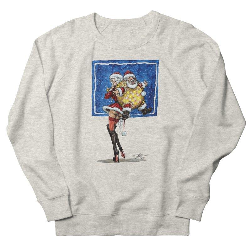 Spicy Xmas. Men's French Terry Sweatshirt by Ferran Xalabarder's Artist Shop