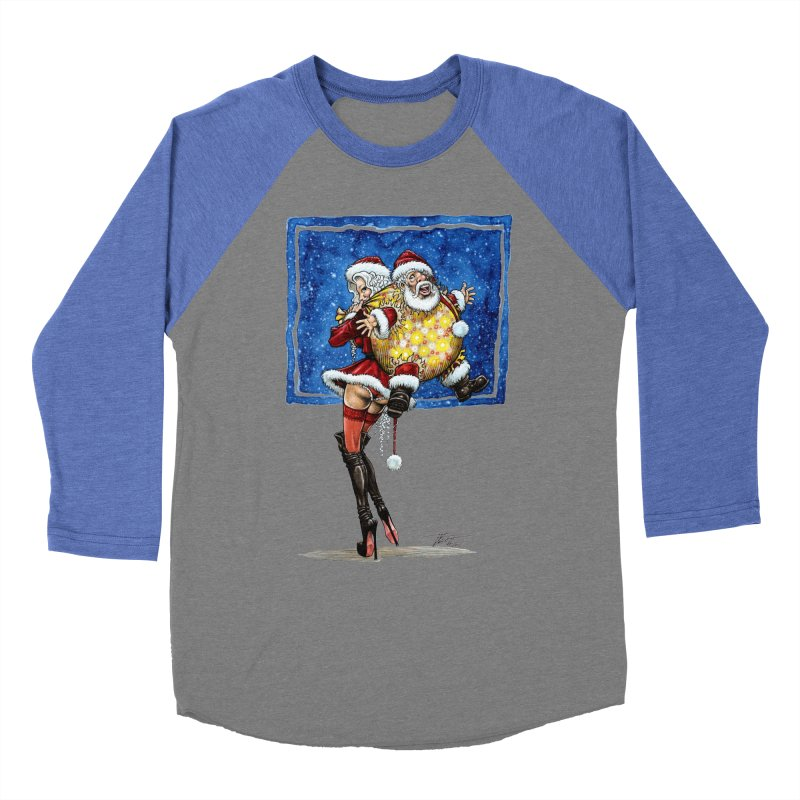 Spicy Xmas. Women's Baseball Triblend Longsleeve T-Shirt by Ferran Xalabarder's Artist Shop