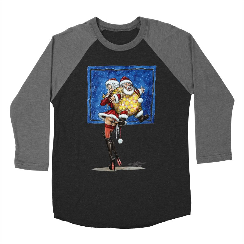 Spicy Xmas. Women's Baseball Triblend Longsleeve T-Shirt by Ferran Xalabarder's Artist Shop
