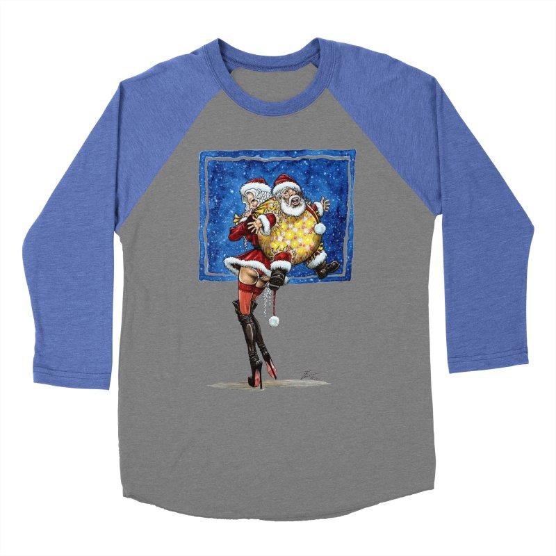 Spicy Xmas. Men's Baseball Triblend T-Shirt by Ferran Xalabarder's Artist Shop