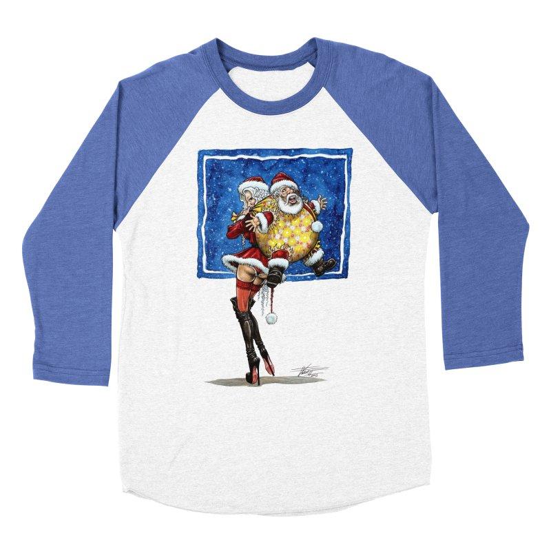 Spicy Xmas. Men's Baseball Triblend Longsleeve T-Shirt by Ferran Xalabarder's Artist Shop
