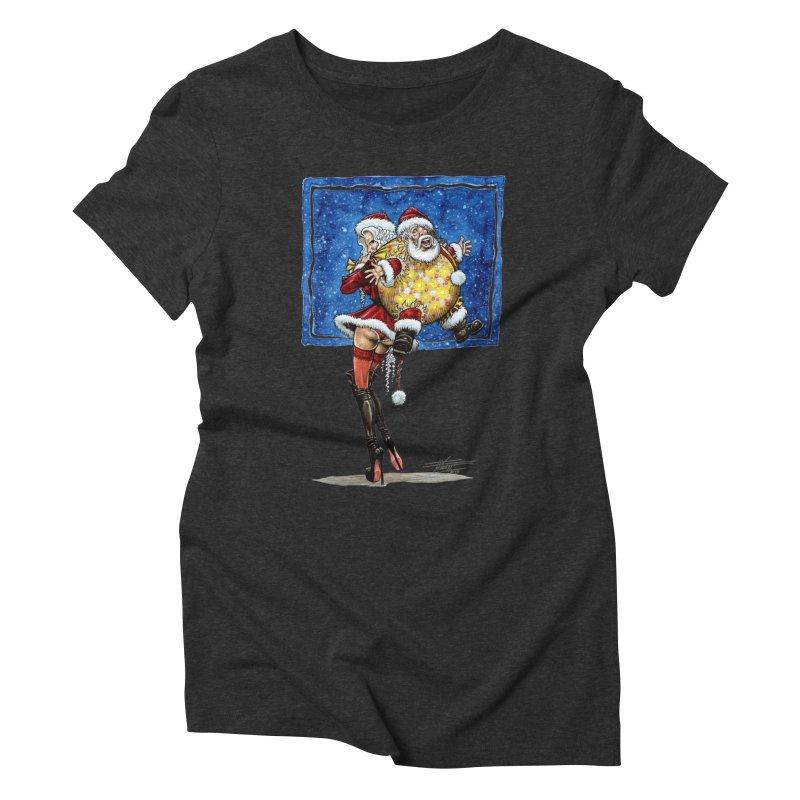 Spicy Xmas. Women's T-Shirt by Ferran Xalabarder's Artist Shop