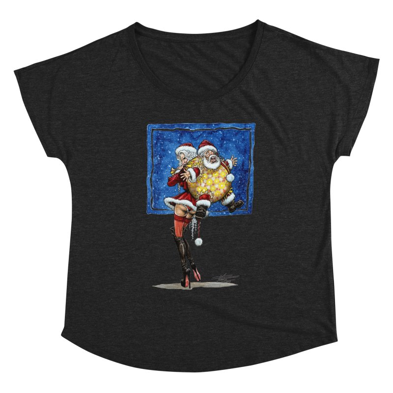 Spicy Xmas. Women's Scoop Neck by Ferran Xalabarder's Artist Shop