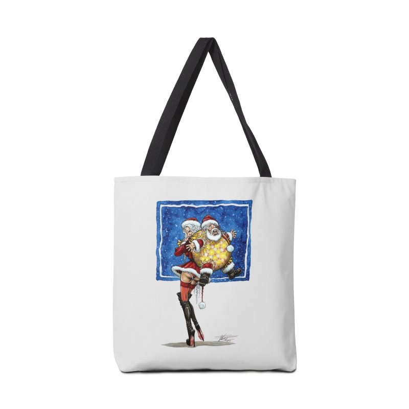 Spicy Xmas. Accessories Tote Bag Bag by Ferran Xalabarder's Artist Shop