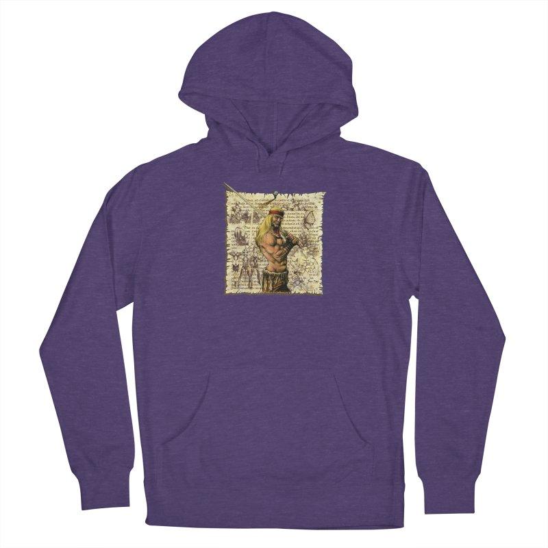 Salvaje Women's Pullover Hoody by Ferran Xalabarder's Artist Shop