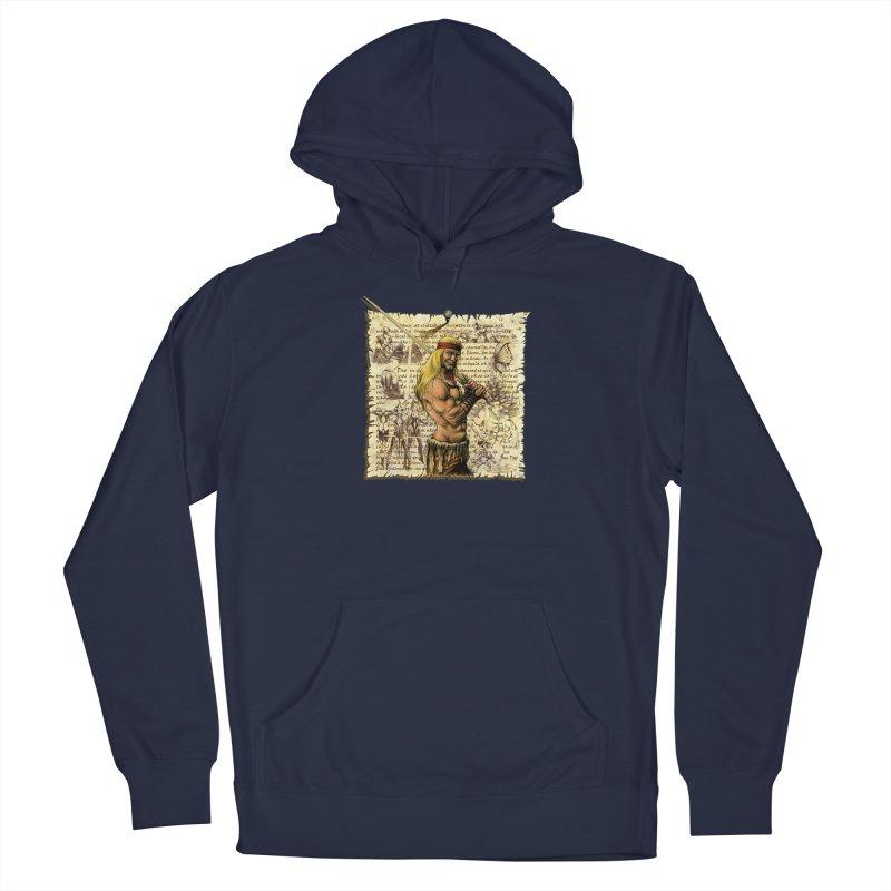 Salvaje Men's Pullover Hoody by Ferran Xalabarder's Artist Shop