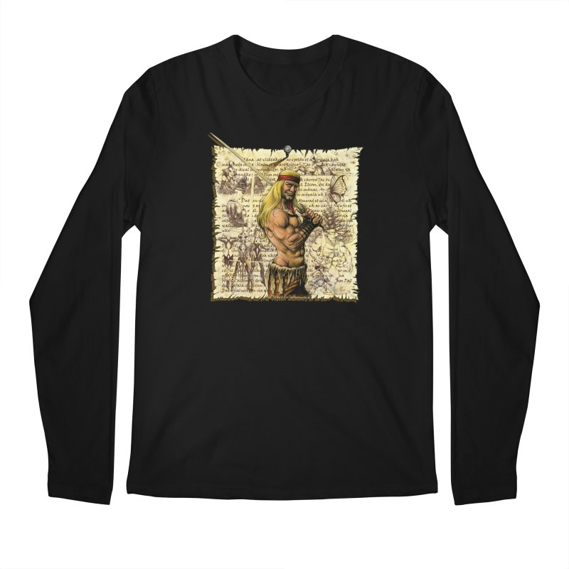 Salvaje Men's Longsleeve T-Shirt by Ferran Xalabarder's Artist Shop