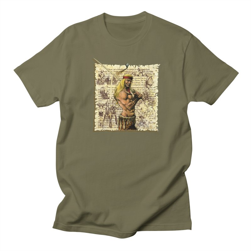 Salvaje Men's T-Shirt by Ferran Xalabarder's Artist Shop