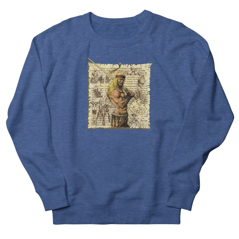 Salvaje Men's Sweatshirt by Ferran Xalabarder's Artist Shop
