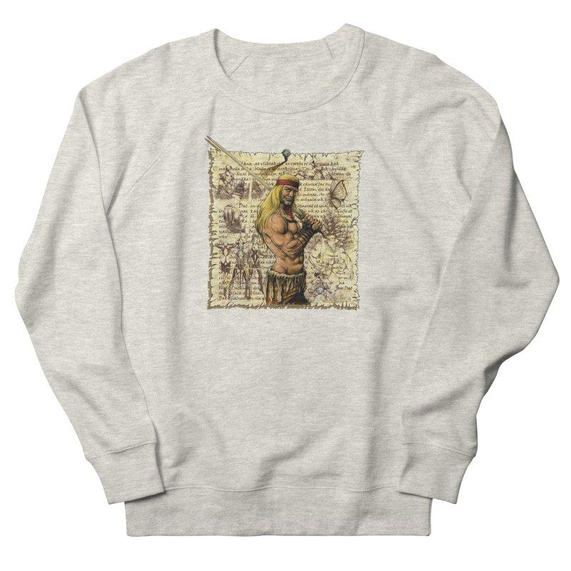 Salvaje Men's Sweatshirt by Ferran Xalabarder's Artist Shop
