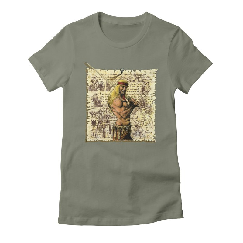 Salvaje Women's T-Shirt by Ferran Xalabarder's Artist Shop